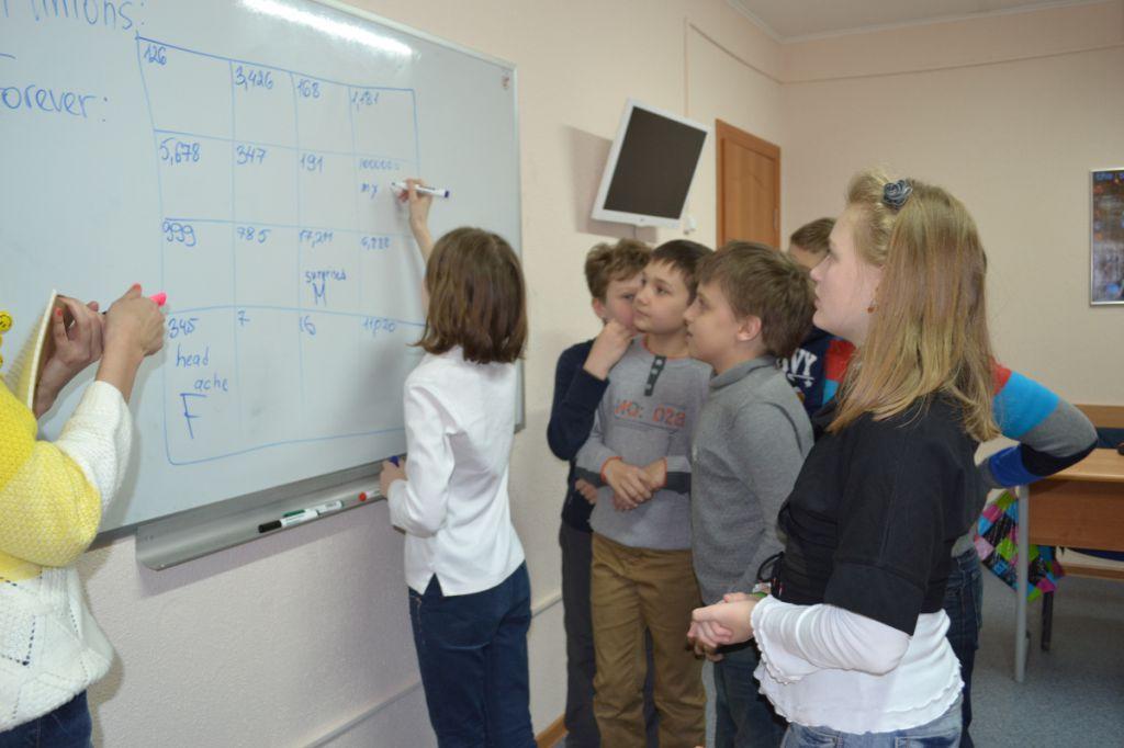 Курсы английского для детей в Марфино